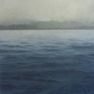 Jake Aikman | N10.862978, W86.017671 | 2013 | Oil on Canvas | 165 x 165 cm