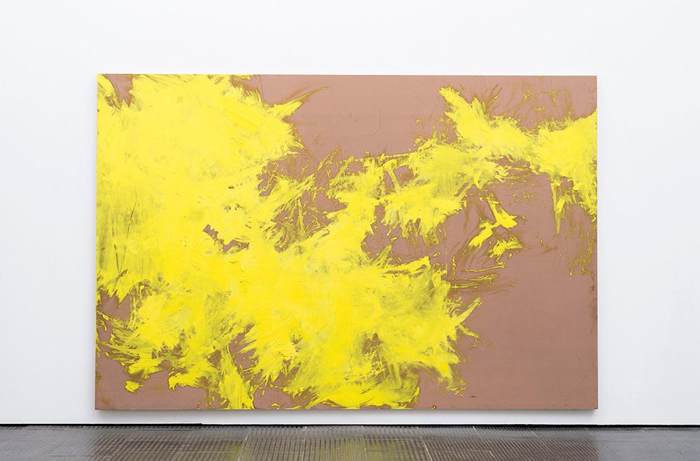Ruann Coleman   f(x)   2017   Oil on Board   184 x 276 cm