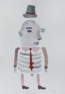 Karlien de Villiers | The Old Scool Gentleman | 2013 | Watercolour on Paper | 51 x 36 cm