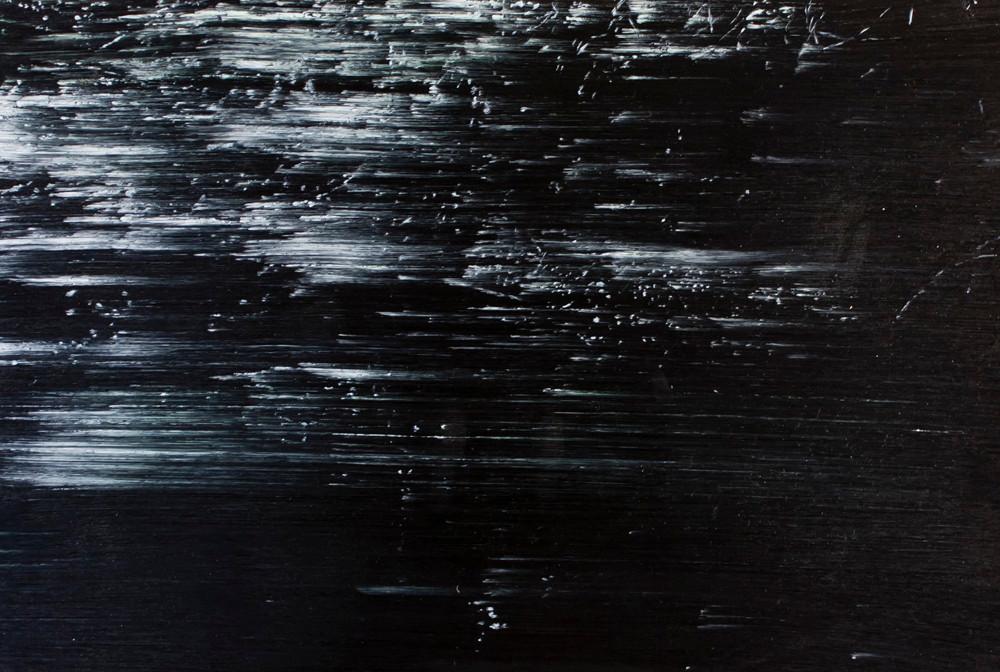 Peter Eastman | Deep Chine XIX | 2014 | Oil on Aluminium | 29.5 x 44 cm