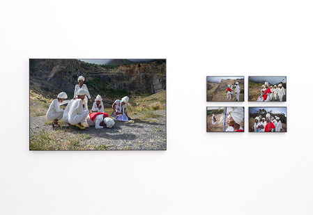 Lhola Amira | imiqondiso I - V | 2018 | Giclée Print on Hahnemühle Photo Rag Baryta Diasec | Dimensions Variable | Edition of 3 + 2 AP