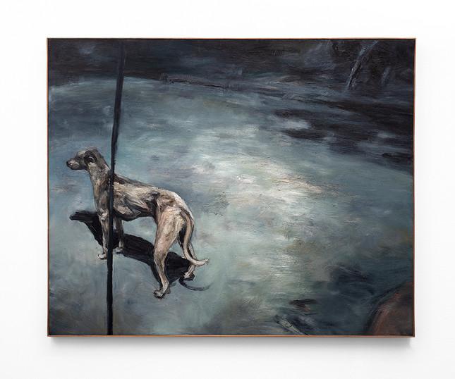 Johann Louw   Naghond   2016   Oil on Canvas   122.5 x 150 cm