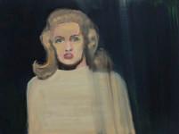 Luiza Cachalia | Blue Tippi | 2012 | Oil on Canvas | 45 x 62 cm