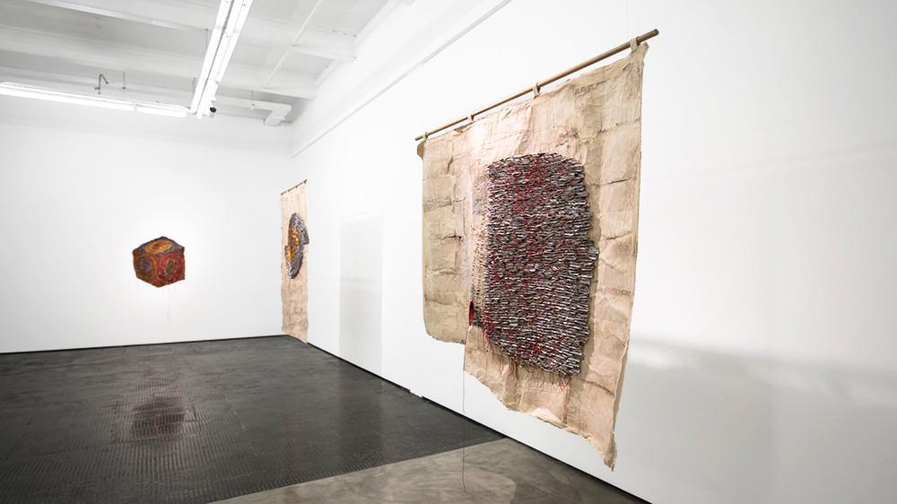 Wallen Mapondera | Moving Target | 2019 | Installation View
