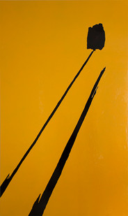 Peter Eastman | Buitenkant | 2015 | Oil and Enamel on Aluminium | 250 x 150 cm