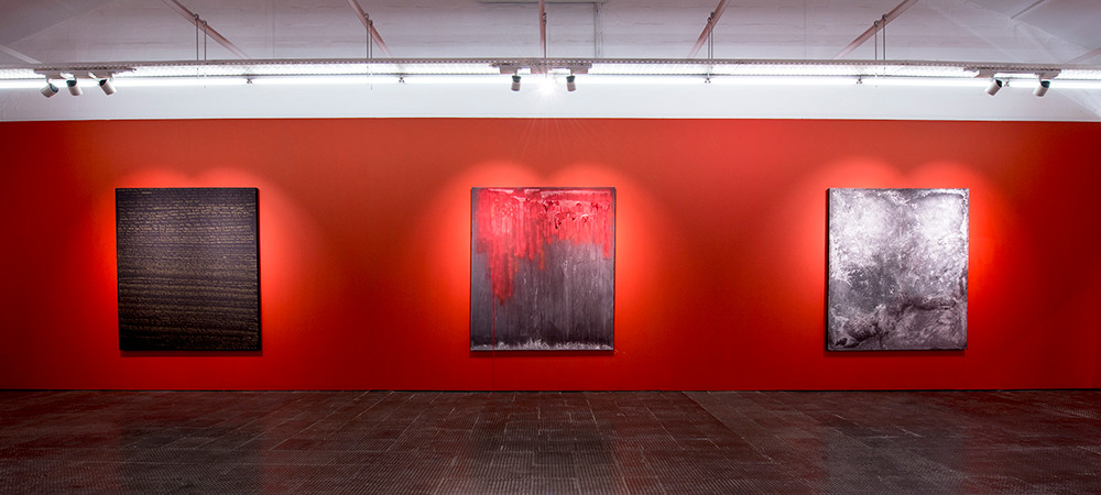 Lhola Amira | Umlibo I - III | 2018 | Mixed Media | 200 x 175 cm
