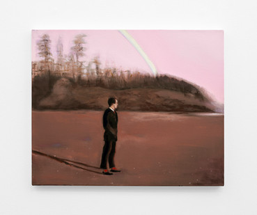 Kate Gottgens | The Last Rainbow | 2020 | Oil on Canvas | 62 x 76.5 cm