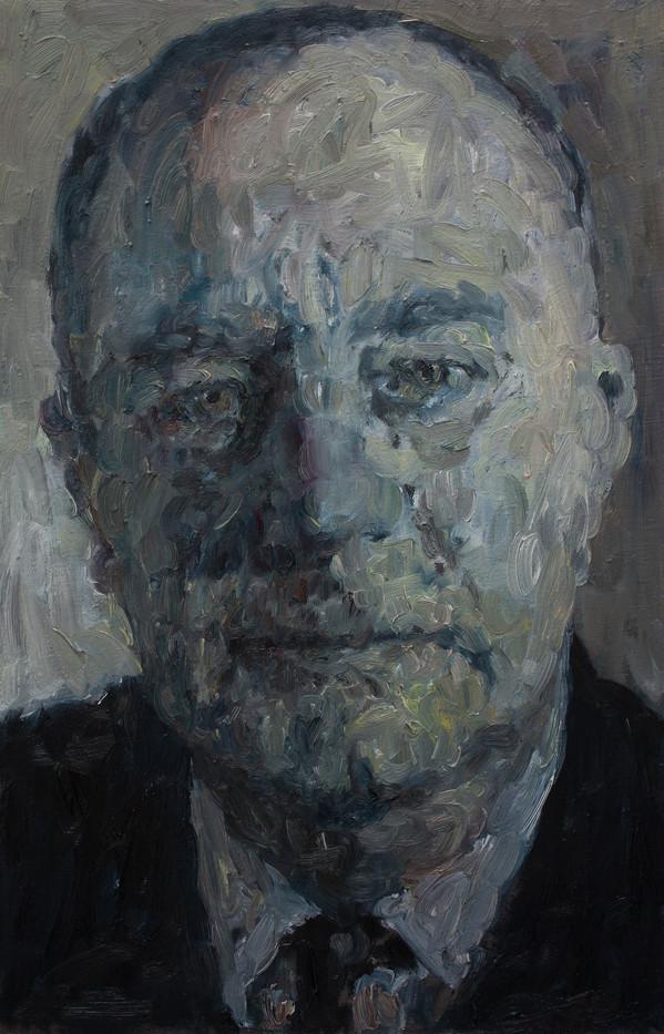 Anton Karstel | Prime Minister (Vorster) | 2014 | Oil on Canvas | 64 x 42 cm