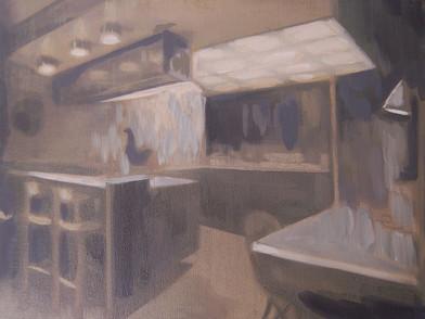 Kate Gottgens | Petty Crime X | 2012 | Oil on Canvas | 30.5 x 40.5 cm