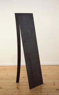 Ruann Coleman | Peel VI | 2014 | Raw Steel | 154 x 44.5 x 44.5 cm