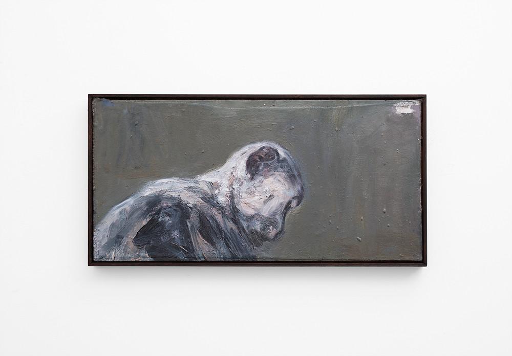 Johann Louw | Klein Profiel | 2017 | Oil on Panel | 44 x 90 cm