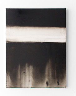 Alexandra Karakashian | Fracture | 2016 | Oil on Paper | 76 x 61 cm