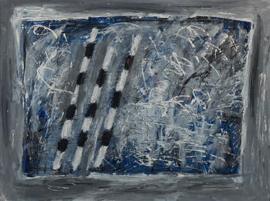 Kevin Atkinson   Untitled (3)   1977   Oil on Card   76.5 x 102 cm