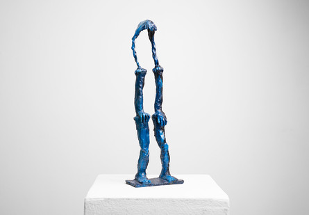 Marlene Steyn | All she wanted was to be a flying buttress | 2017 | Oil Paint on Ceramic | 40 x 13.5 x 6 cm | Edition of 10