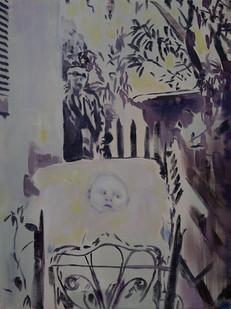 Kate Gottgens | Infant | 2015 | Oil on Canvas | 90 x 68 cm