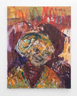 Mostaff Muchawaya | Untitled | 2018 | Acrylic on Canvas | 132 x 102.5 cm