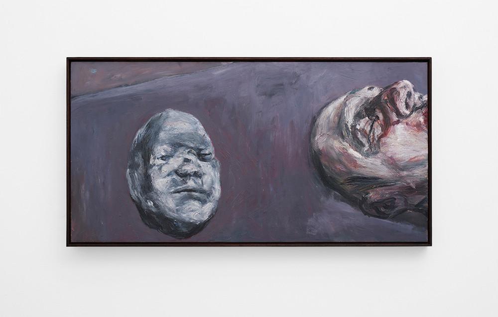 Johann Louw | Gietsel, Kop | 2017 | Oil on Panel | 61 x 122 cm