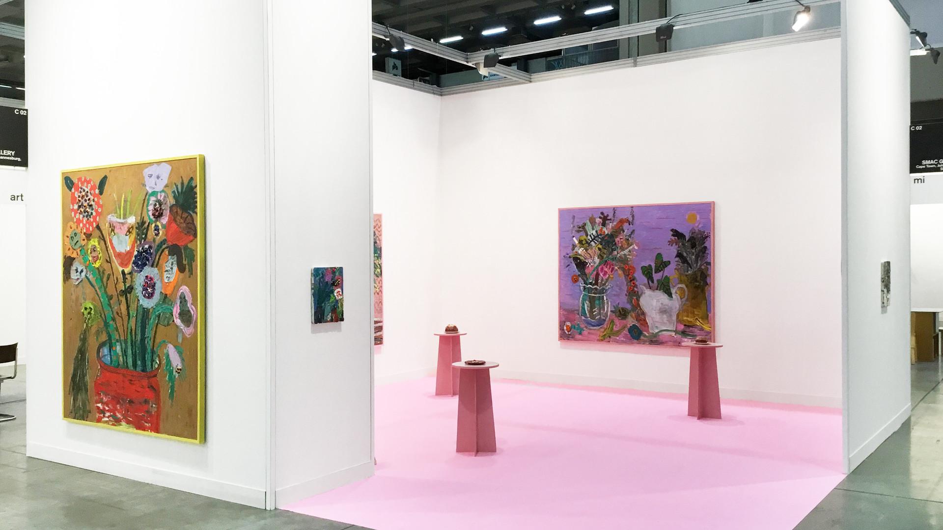 Georgina Gratrix | MiArt | 2017 | Installation View