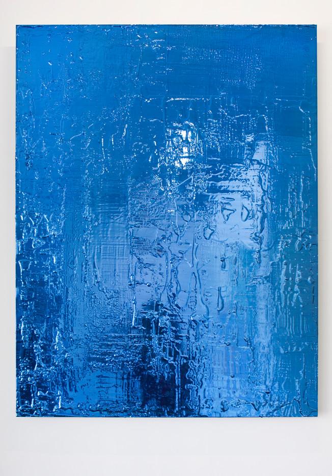Peter Eastman   Untitled   2013   Enamel and Resin on Aluminium   90 x 70 cm