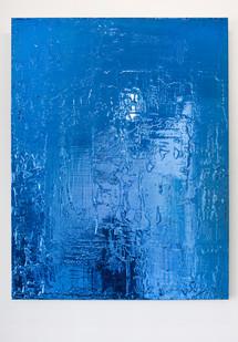 Peter Eastman | Untitled | 2013 | Enamel and Resin on Aluminium | 90 x 70 cm