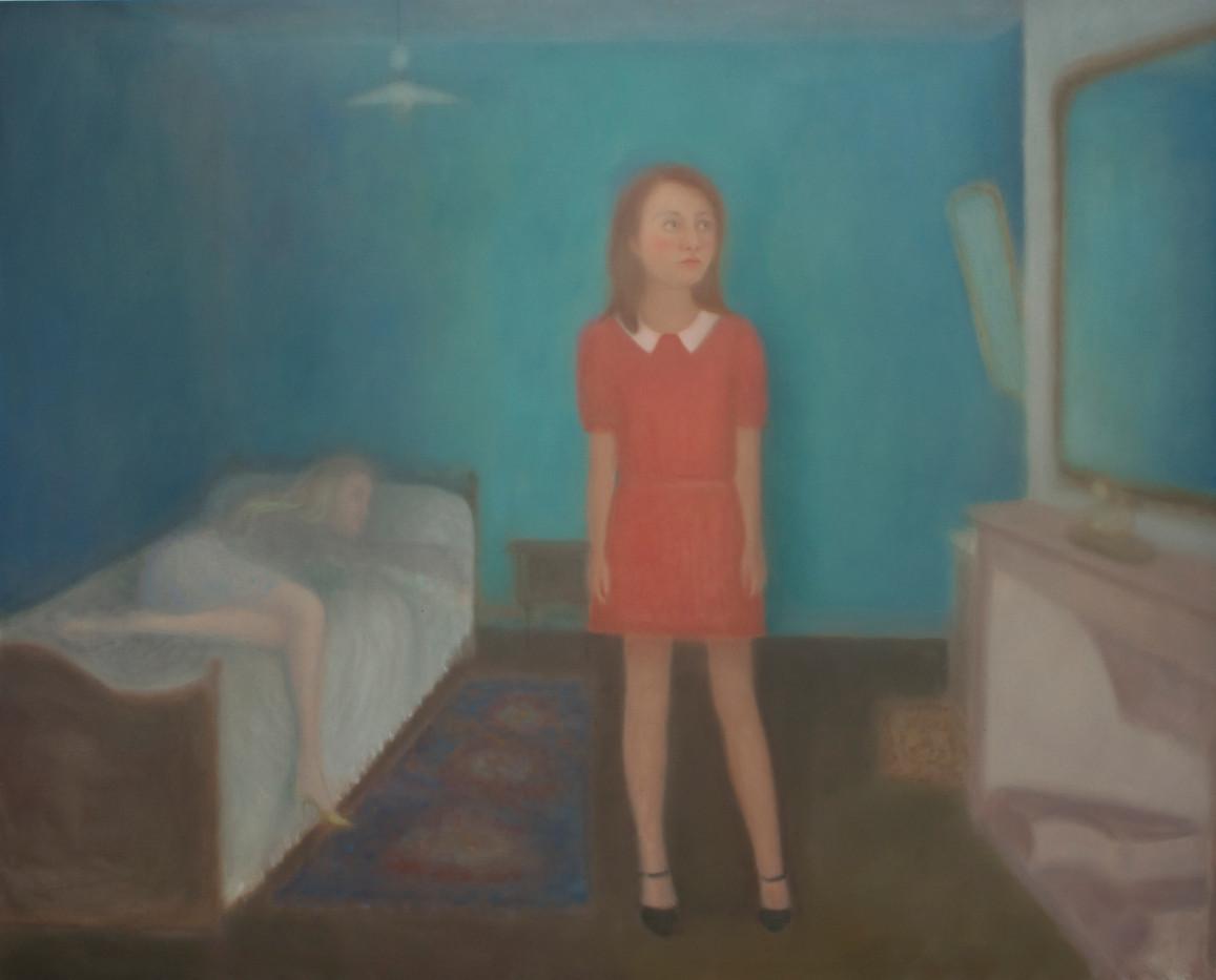 Chechu Álava   Sunday Blues   2013   Oil on Canvas   130 x 162 cm