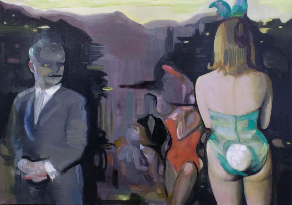 Kate Gottgens | Fair Play | 2015 | Oil on Canvas | 84 x 120 cm