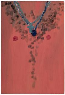 Georgina Gratrix | Chest | 2011 | Oil on Board | 70 x 50 cm