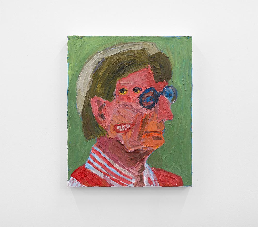 Georgina Gratrix | Hilde-Busso | 2013 | Oil on Canvas | 60 x 50 cm