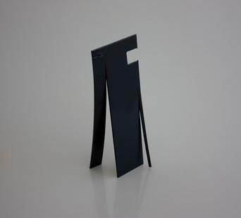 Ruann Coleman | Peel IV | 2014 | Steel | 53.5 x 15 x 19 cm