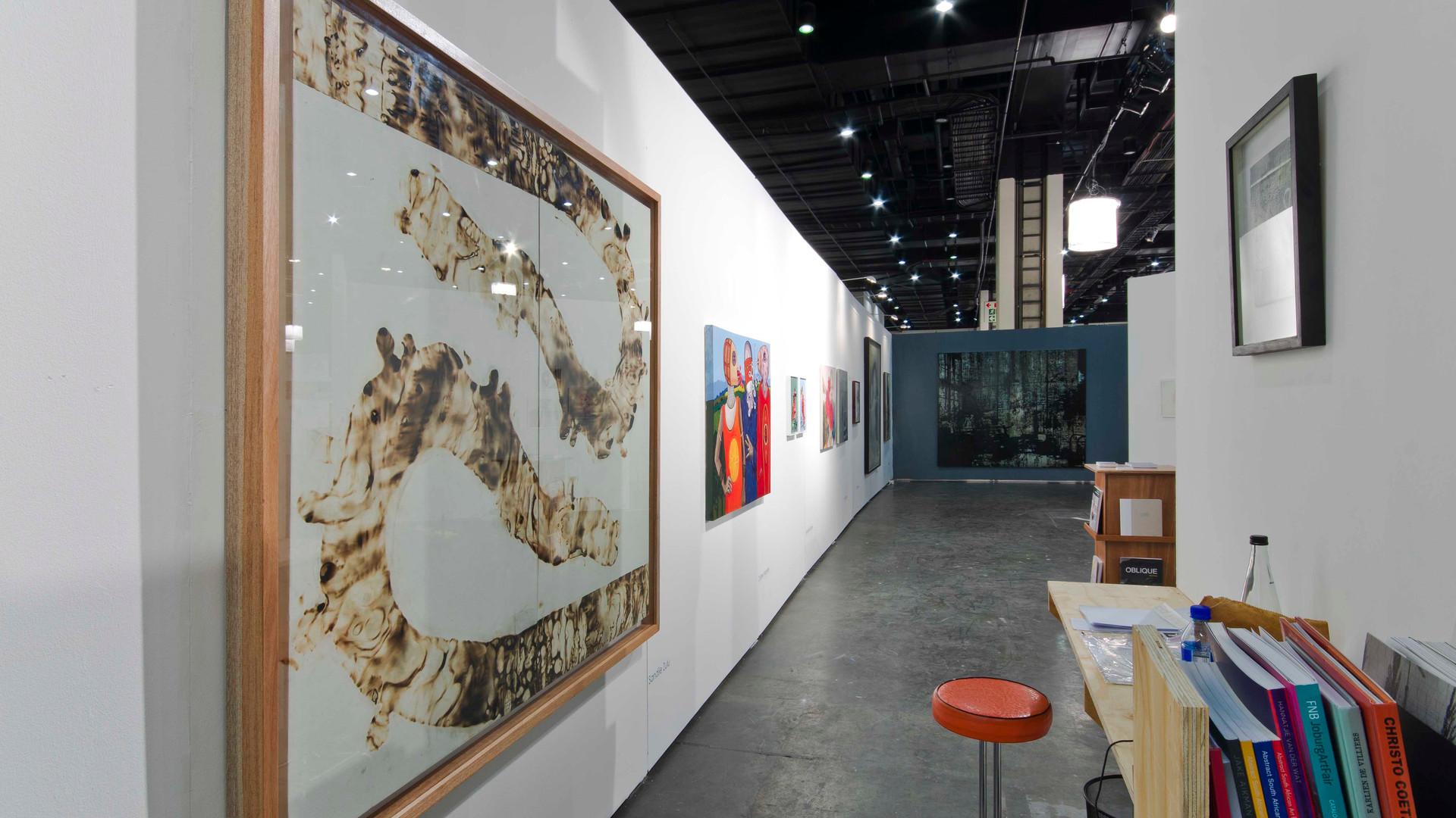 FNB Art Joburg   2013   Installation View