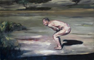 Johann Louw   Dansie op Mooiplaas   2015   Oil on Canvas   121.5 x 152 cm