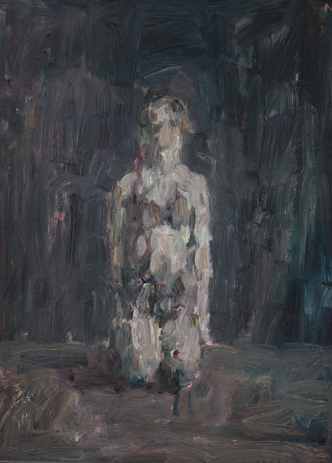 Anton Karstel   IV/a   2013   Oil on Canvas   54 x 39.5 cm