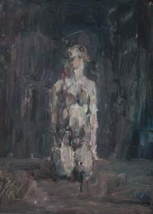 Anton Karstel | IV/a | 2013 | Oil on Canvas | 54 x 39.5 cm