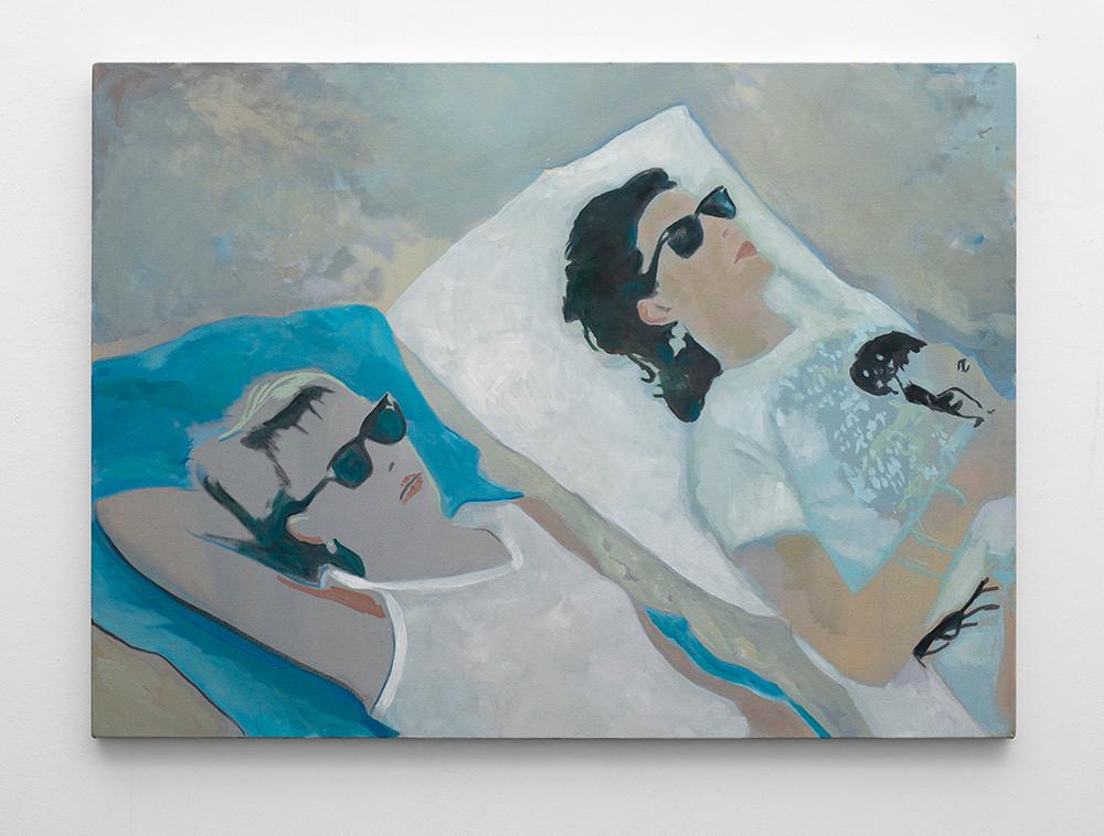 Kate Gottgens | Bloom | 2016 | Oil on Canvas | 95.5 x 130 cm