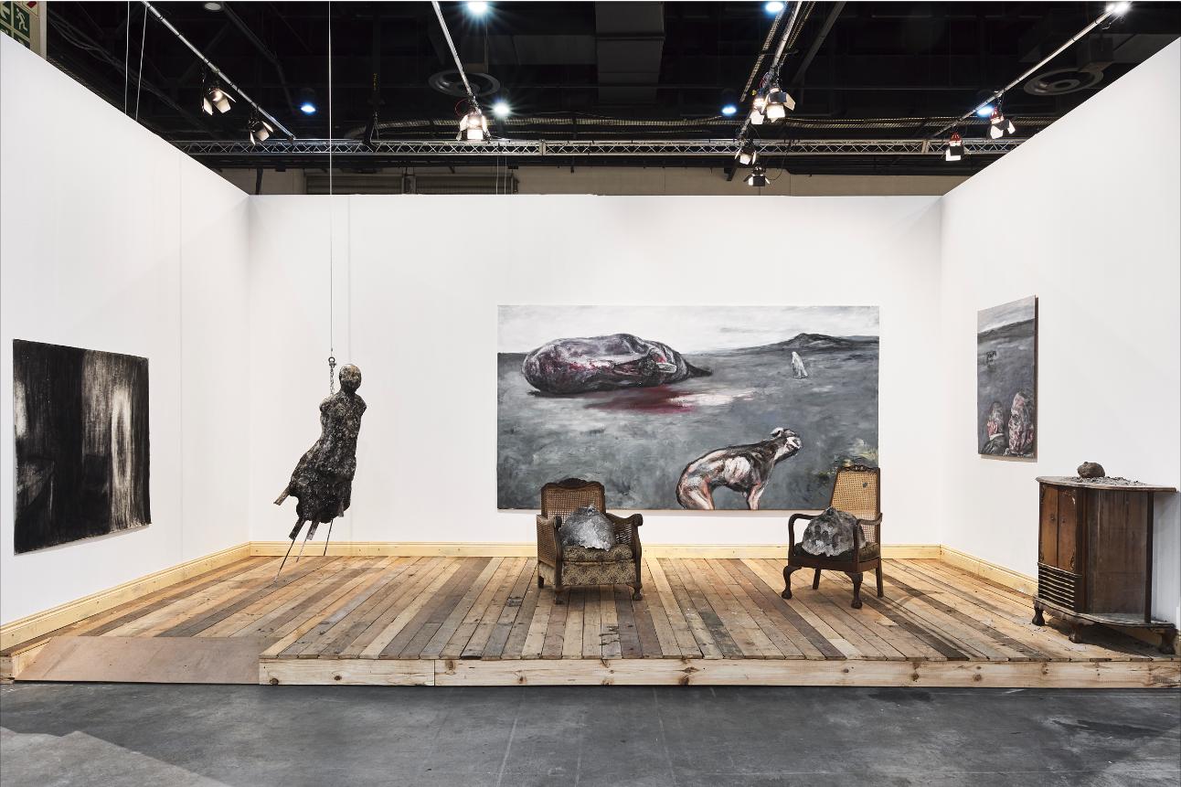 Johann Louw   FNB Art Joburg   2019   Installation View