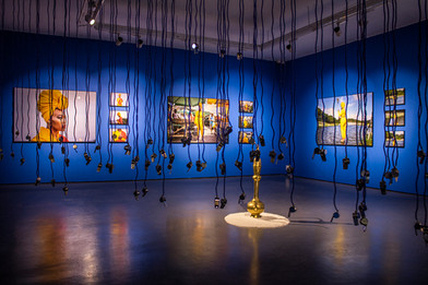 Lhola Amira | Abalozi Bayeza / Os Deuses Estão Chegando | 2019 | Installation View