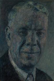 Anton Karstel | Prime Minister (Verwoerd) | 2014 | Oil on Canvas | 68 x 46 cm