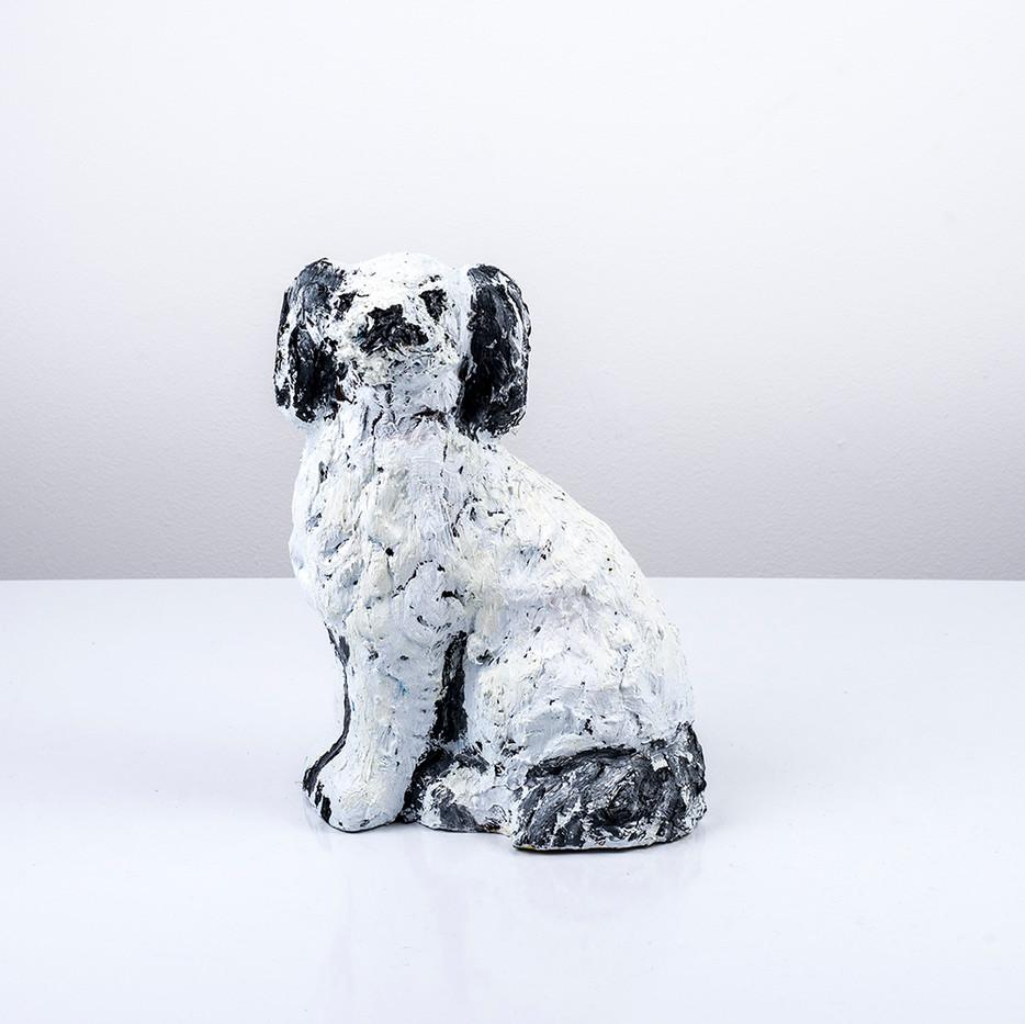 Georgina Gratrix | Staffordshire Study IV | 2018 | Oil on Ceramic | 26 x 20 x 11 cm