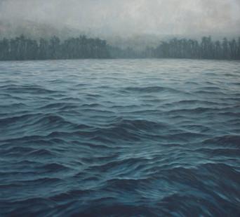 Jake Aikman   N10.841399, W85.875374   2013   Oil on Canvas   165 x 165 cm