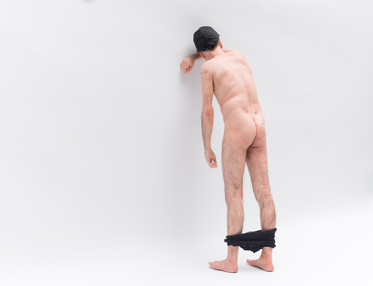 Ed Young | COMME des FUCKDOWN | 2017 | Silicone, Hair, Cotton and Paint | 61 x 25 x 18 cm
