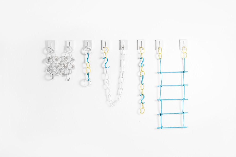 Pierre Le Riche   Study for a chain reaction   2020   Porcelain Collage   75 x 120 cm