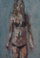 Anton Karstel | Bikini Girl | 2012 | Oil on Canvas | 53 x 36 cm