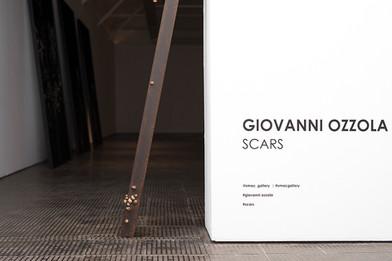 Giovanni Ozzolo   SCARS   2016   Installation View