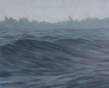 Jake Aikman   N10.852083, W85.82095   2013   Oil on Paper   50 x 61 cm
