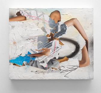 Asha Zero | 5 a68 | 2016 | Acrylic on Board | 36.5 x 43 cm
