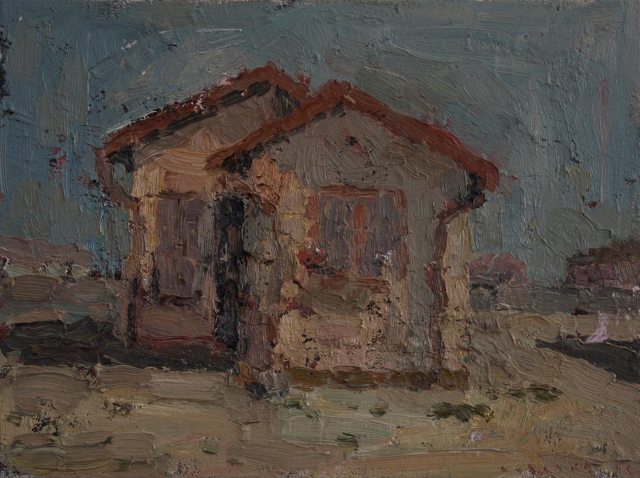 Anton Karstel | Property (Springs) | 2014 | Oil on Canvas | 26 x 35 cm