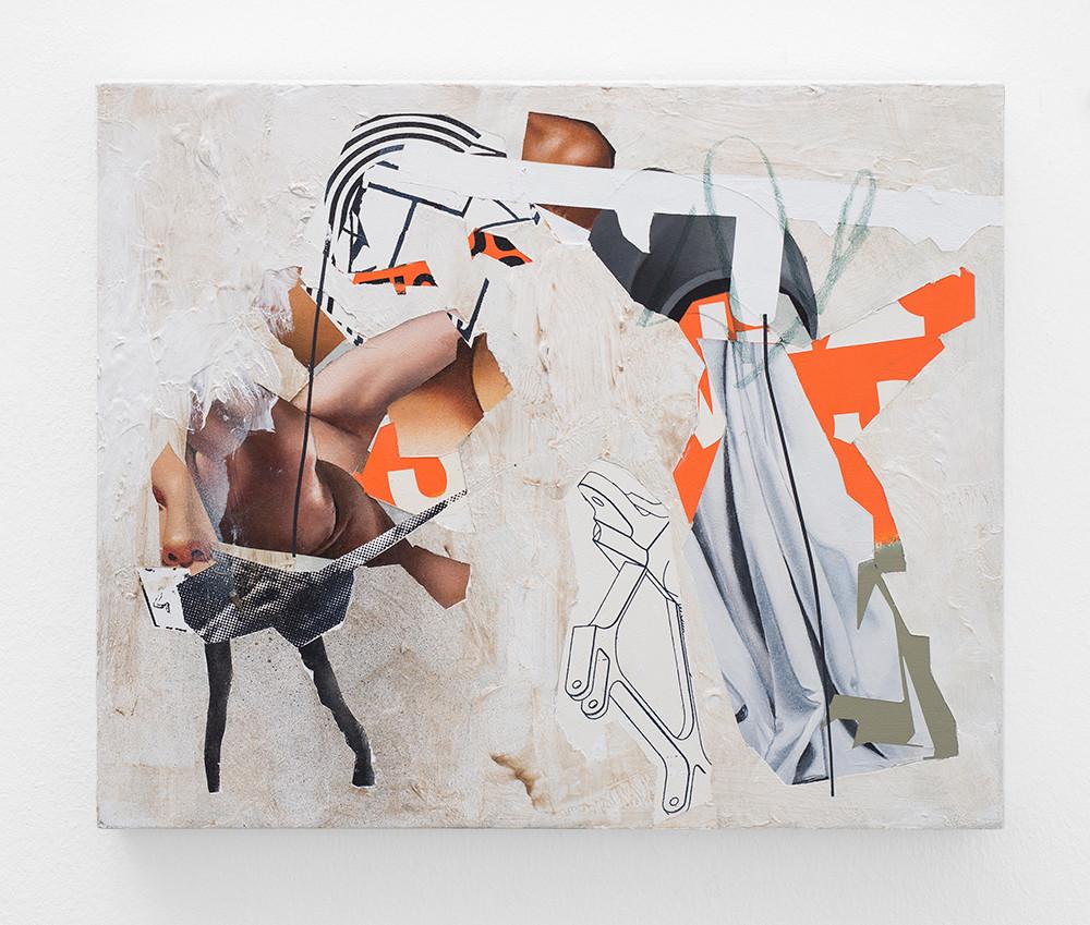 Asha Zero | zzmhodd | 2018 | Acrylic on Board | 36 x 42 cm