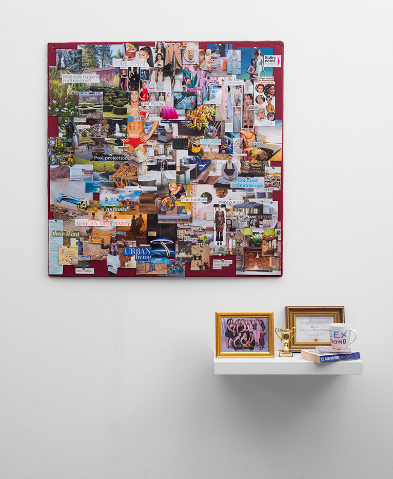 Katleho Mosehle | (NO) SEX IN CT - 7 | 2018 | Collage, Found Objects | Dimensions Variable