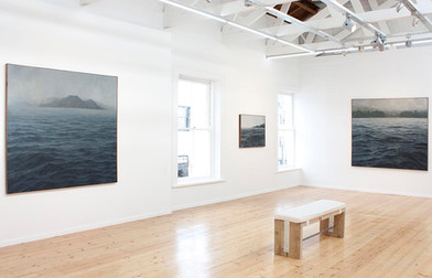 Jake Aikman   At the Quiet Limit   2013   Installation View