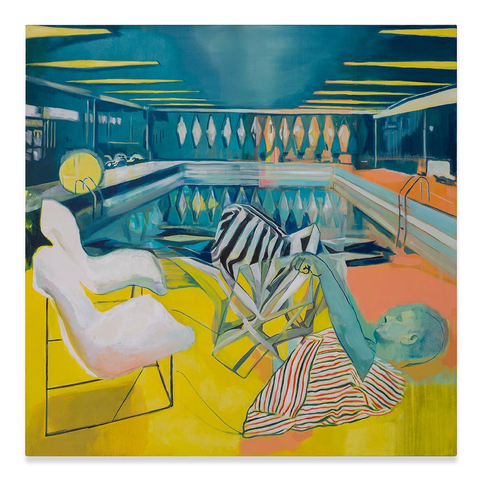 Kate Gottgens | The Abstractor | 2018 | Oil on Canvas | 150 x 150 cm